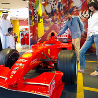Abu Dhabi child friendly hotels include Yas Viceroy next to the Ferrari park