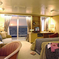 Asian cruises, P&O Arcadia cabin image