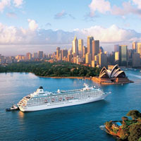 Asian cruises, Crystal Cruises in Sydney