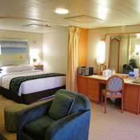 Asian cruises, Superstar Aquarius cabin
