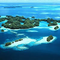 Diving in Palau rates high