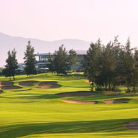 Golfing in Vietnam will bring you to Danang's beautiful Montgomerie Links