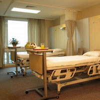 Medical tourism Singapore, Raffles Hospital room