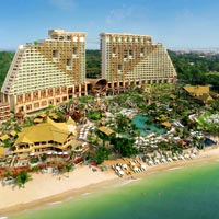 Fun corporate meetings in Thailand, Centara Grand Mirage Pattaya