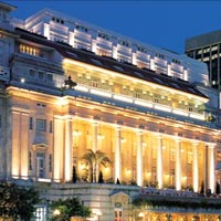 Singapore conference hotels, small meetings at Fullerton