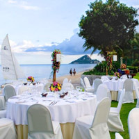 Hyatt Regency Hua Hin is a great venue for beachside events and banquets
