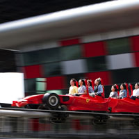 Fastest ride in Asian theme park, Formula Rossa, Abu Dhabi