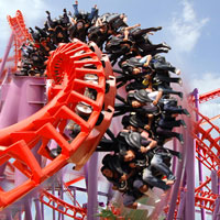 Fastest roller coasters in Thailand, Vortext at Siam City