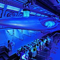 Fastest roller coasters in Asia, Tokyo Disneyland's Space Mountain