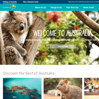 Destination sites, Tourism Australia is a top pick and packed with quality information