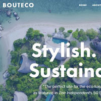 Best travel sites in Asia, Boutico for sustainable tourism options