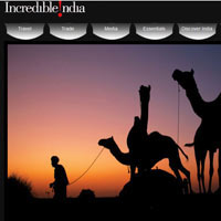 The Incredible India site has lost points on design, information and general feel
