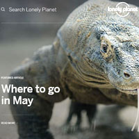 Online travel guides, Lonely Planet