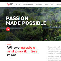 Visit Singapore site is packed with info but very businesslike
