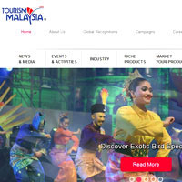 Interesting travel sites on Asia, Tourism Malaysia, national tourist office with megasales and shopping galore