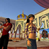 Second Life virtual travels, Arabian Palace