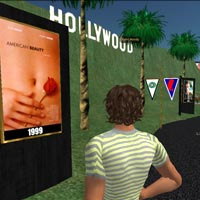 Visit Hollywood in Second Life