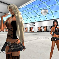 Second Life shopping for cool body shapes and skin at LAQ