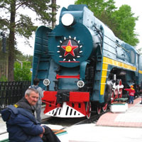 Trans Siberian trains, Seyatel Locomotive Railway Museum