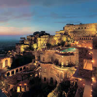 Rajasthan destination wedding, India, Neemrana Fort-Palace