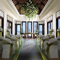 Destination wedding at the St Regis Bali