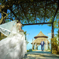 Sabah weddings at Shangri-La's Rasa Ria resort