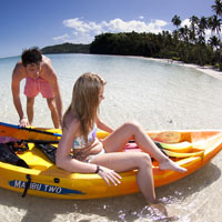 Fiji fun guide for families, try Mango Bay