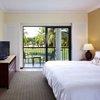 Fiji beach resorts review, Sofitel suite, plain but classy