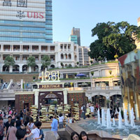 HK designer brand shopping at 1881 Heritage in Kowloon, TST