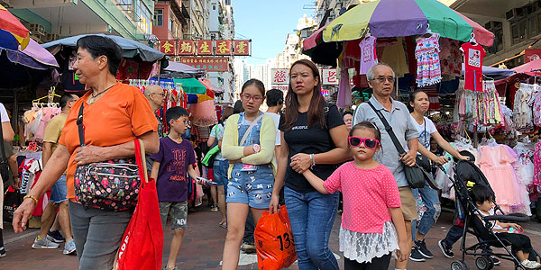 Hong Kong shopping guide - bargains are best at Sham Shui Po where the streets are packed with deals