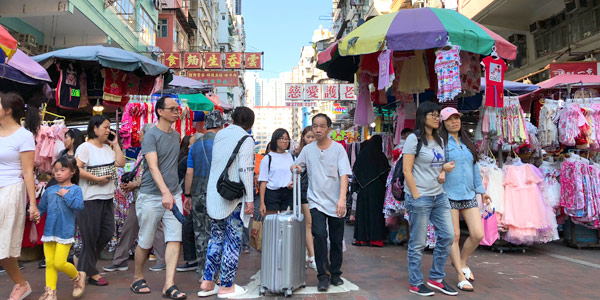 edc163e0 Hong Kong shopping guide - bargains are best at Sham Shui Po where the  streets are