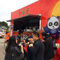 Food trucks arrive in Hong Kong