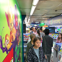 HK computer shopping at Golden Computer Arcade Sham Shui Po
