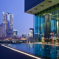 Hong Kong designer hotels, ICON pool