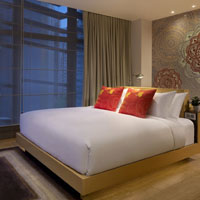 Hong Kong boutique hotels, Indigo room in Wanchai