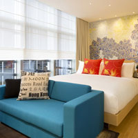 Indigo room, a hip choice for Hong Kong business hotels