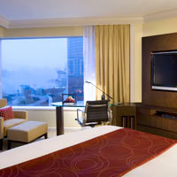 Best Hong Kong business hotels, JW Marriott room with a view
