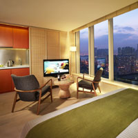 Hong Kong boutique hotels, Madera standard room