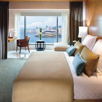 Top Hong Kong business hotels downtown, Mandarin Oriental Harbour Room