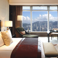 Hong Kong business hotels review, Ritz-Carlton serves up great views