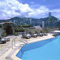 Kowloon business hotels, Sheraton pool image