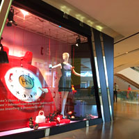 Harvey Nichols window beckons at Pacific Place