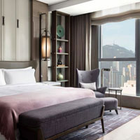 Hong Kong luxury boutique hotels review, St Regis Grand Deluxe room