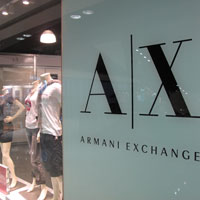 Hong Kong factory outlets at Citigate, Armani Exchange