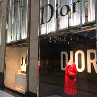 Dior is an anchor tenant at The Landmark, Central District