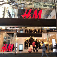 Hong Kong shopping guide - New H&M flagship store Causeway Bay, opened October 2015