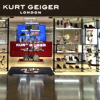 HK shoe shops, Kurt Geiger at Pacific Place