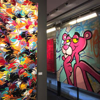 Opera Gallery is a leading art exhibitor in Hong Kong - Pink Panther, by Seen