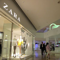 Hong Kong shopping, great deals at Zara, Pacific Place