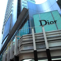 Hong Kong shopping Dior outlet in Tsim Sha Tsui, TST